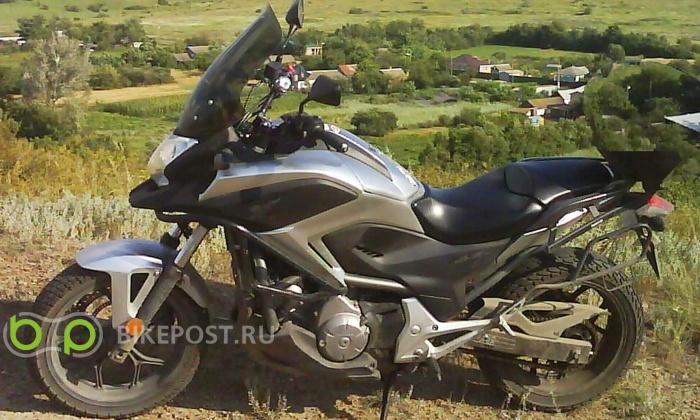 13.04.2016 угнан Honda NC700XD 2012 (Россия, Ростов-на-Дону)