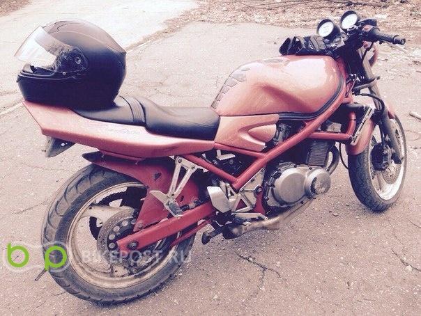26.07.2015 угнан Suzuki GSF400 Bandit 1992 (Россия, Новомосковск)
