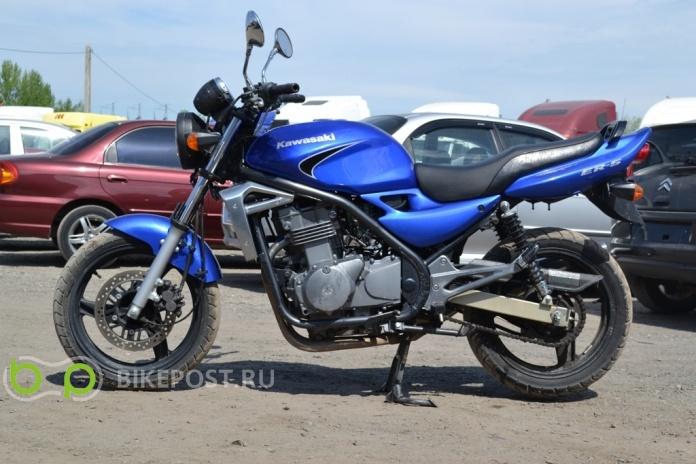 15062014 угнан Kawasaki Er 5 2006 россия москва база угнанных