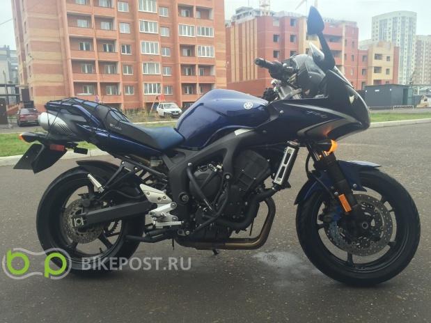 18.08.2016 угнан Yamaha FZ6-S S2 2009 (Россия, Казань)