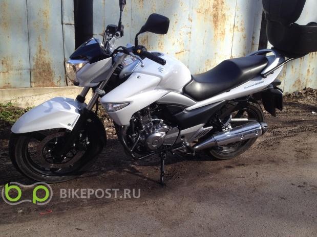 29.06.2015 угнан Suzuki GW250 2014 (Россия, Санкт-Петербург)