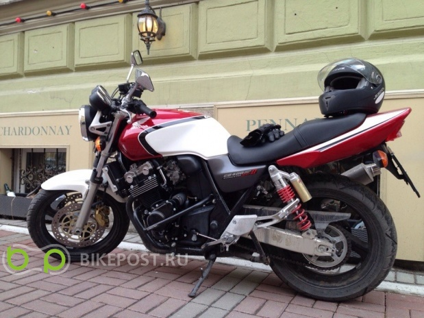 27.08.2015 угнан Honda CB400 Super Four 2003 (Россия, Санкт-Петербург)