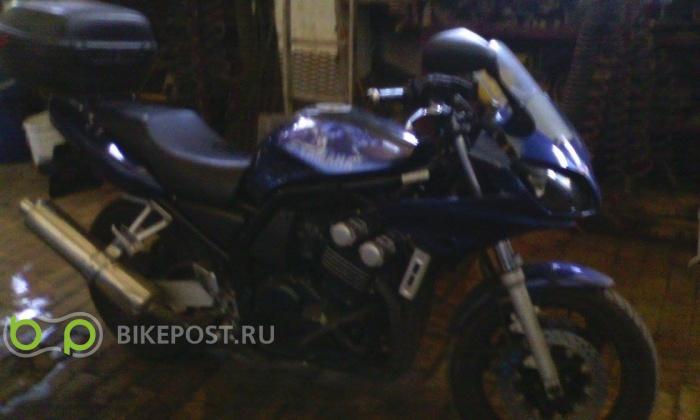28.08.2015 угнан Yamaha FZS600 2002 (Россия, Москва)