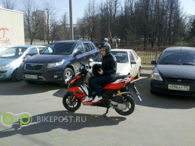 03.09.2015 угнан Aprilia SR 50 R 2012 (Россия, Москва)