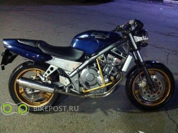 02.10.2015 угнан Honda CB-1 400 1990 (Россия, Клин)