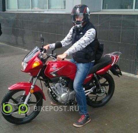 25.04.2016 угнан Yamaha YBR125 2012 (Россия, Москва)