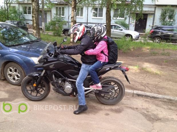 03.05.2016 угнан Honda NC700XA 2013 (Россия, Ногинск)
