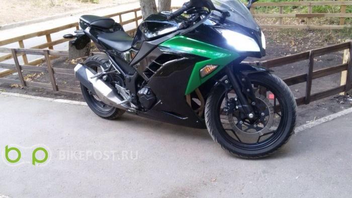 03.06.2016 угнан Kawasaki Ninja 300 2013 (Россия, Самара)