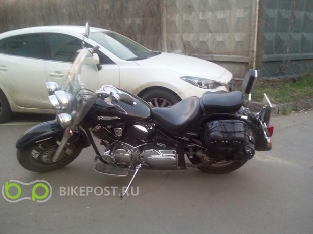 22.06.2016 угнан Yamaha V-Star XVS1100A Classic 2004 (Россия, Москва)