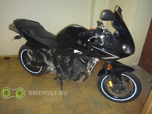 08.06.2017 угнан Yamaha FZ6-S S2 2008 (Россия, Москва)
